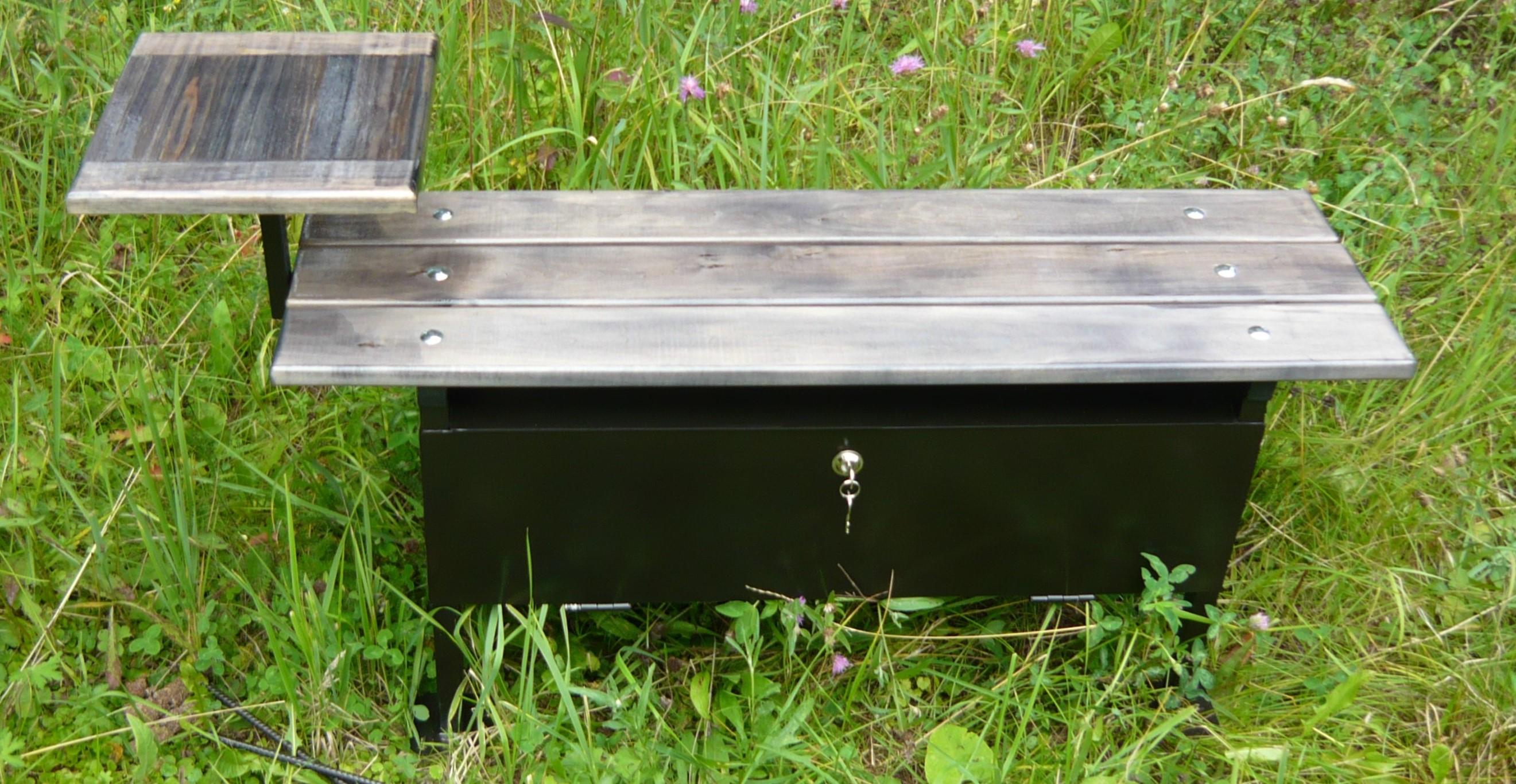 Лавочка с ящиком на кладбище своими руками 90
