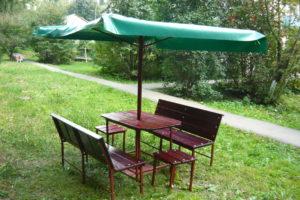 Зонт для дачи